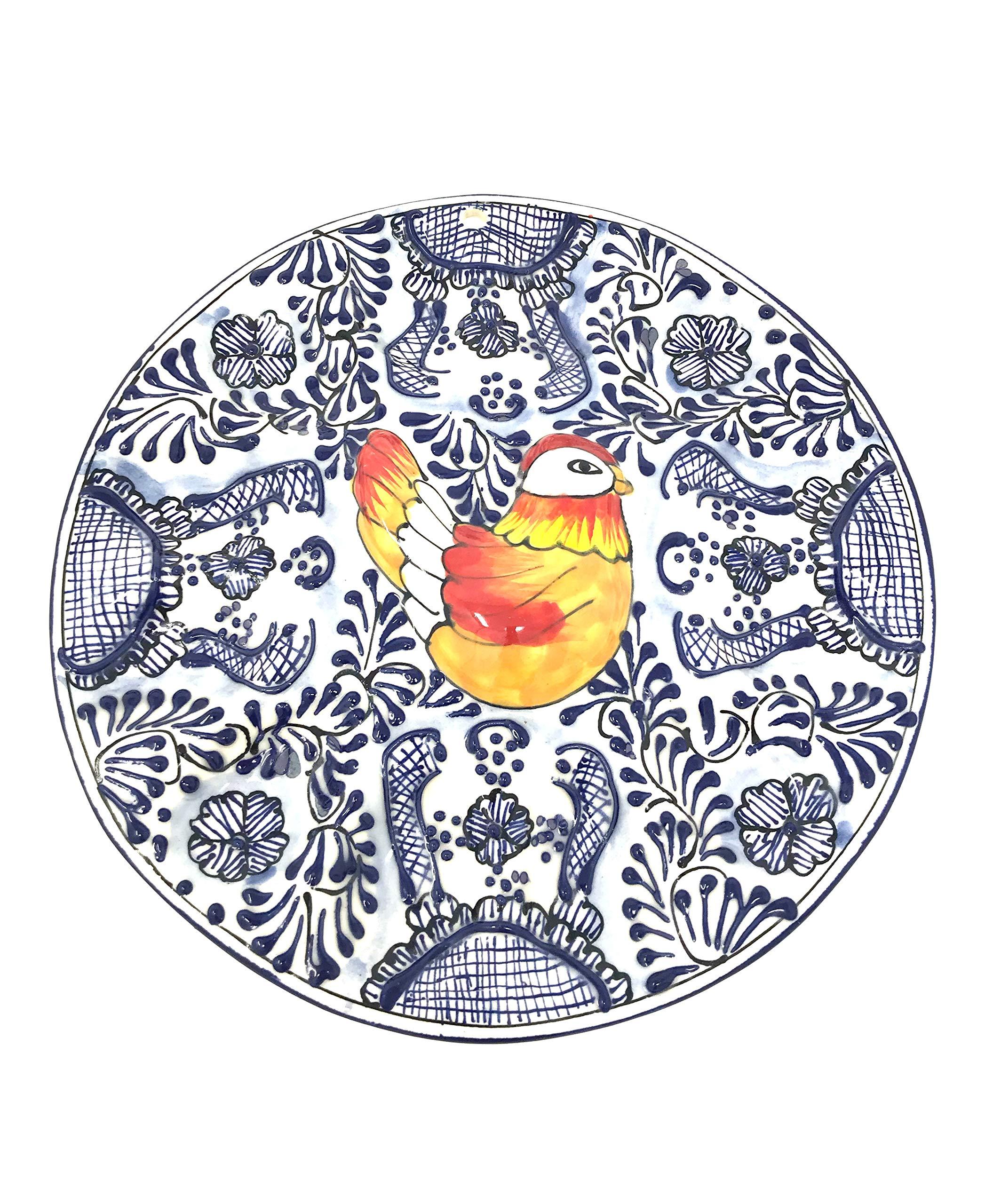 Mexican Talavera Deviled Egg Tray