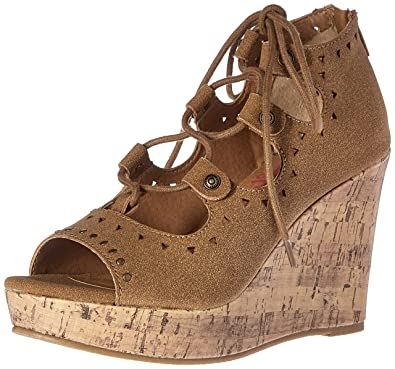 0835f1ca42415 Amazon.com | Jellypop Women's April Wedge Sandal | Platforms & Wedges