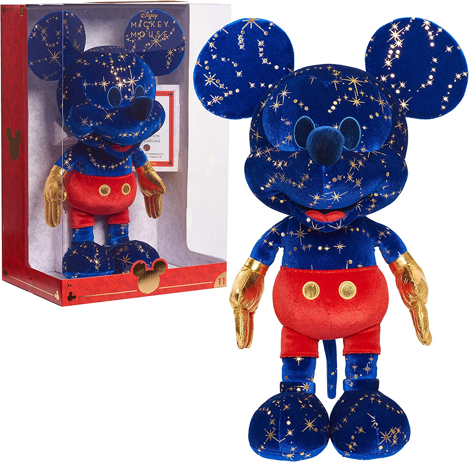 Exclusive Disney Year of the Mouse Collector Plush Fantasia Mickey Mouse