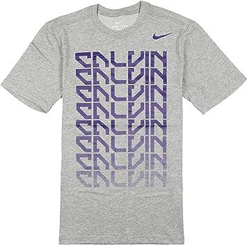 Nike Calvin Johnson Sushi Roll Dri-Fit - Camiseta de algodón para Hombre, Talla M, Color Gris: Amazon.es: Deportes y aire libre