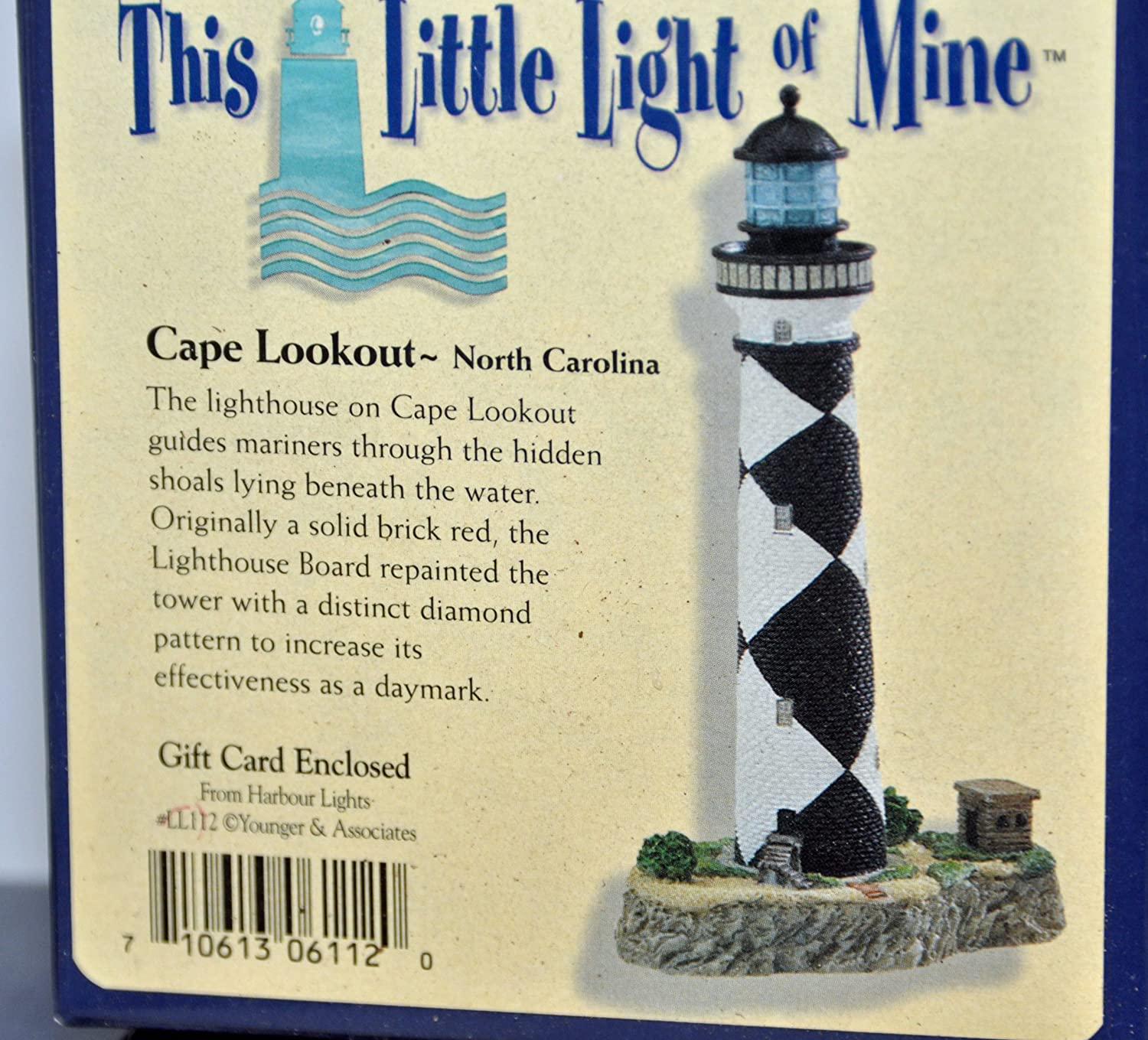 Harbour Lights Cape Lookout NC Brand New in Box with Authenticity Card
