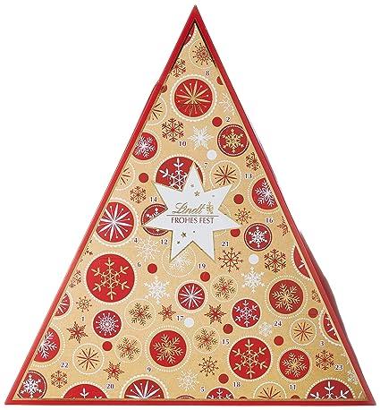 Weihnachtskalender Tannenbaum.Lindt Tannenbaum Adventskalender Schneeflocke 1er Pack 1 X 122 G