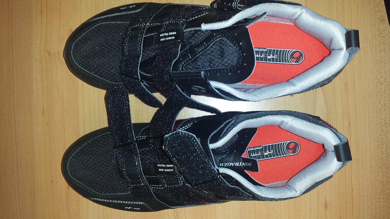 Bontrager - Zapatillas de ciclismo de goma para hombre negro-gris 46: Amazon.es: Zapatos y complementos