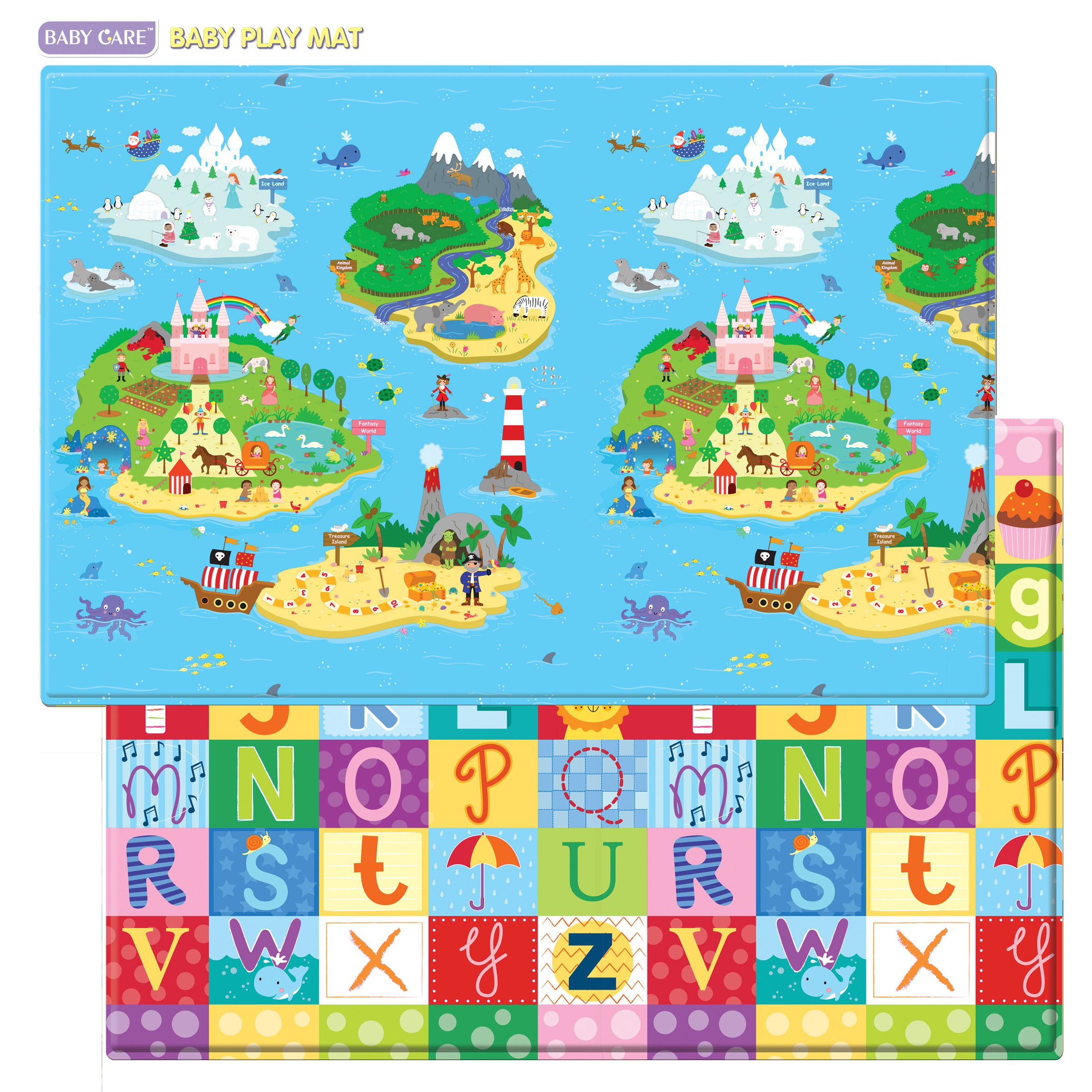 Baby Care Magical Islands Blue Large 36