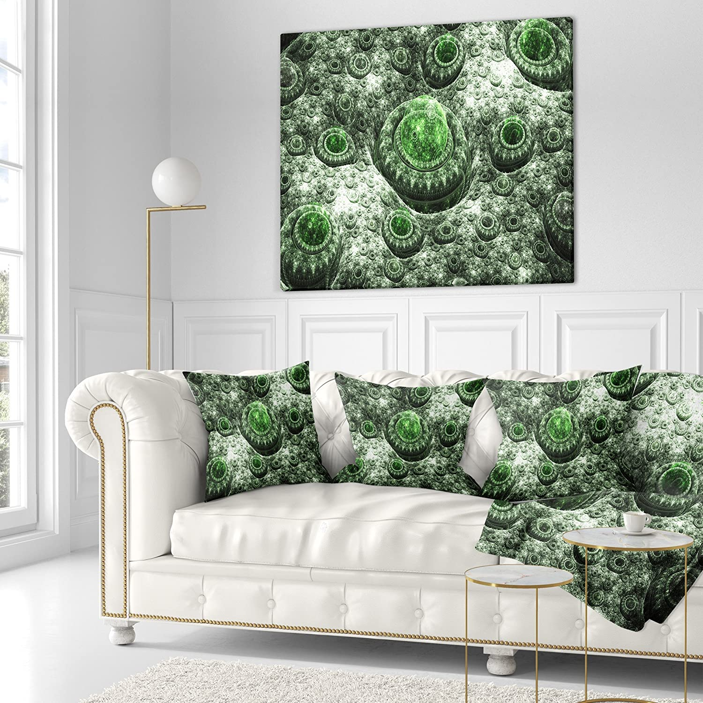 Kess InHouse Apple Kaur Designs Diamonds Yellow 23 x 23 Square Floor Pillow