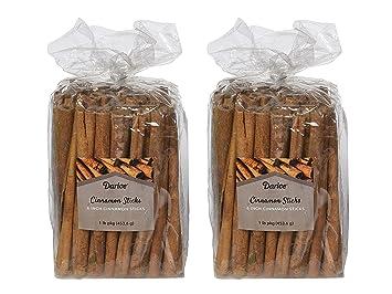 darice 6 inch cinnamon sticks for crafts 1 pound 2 pack
