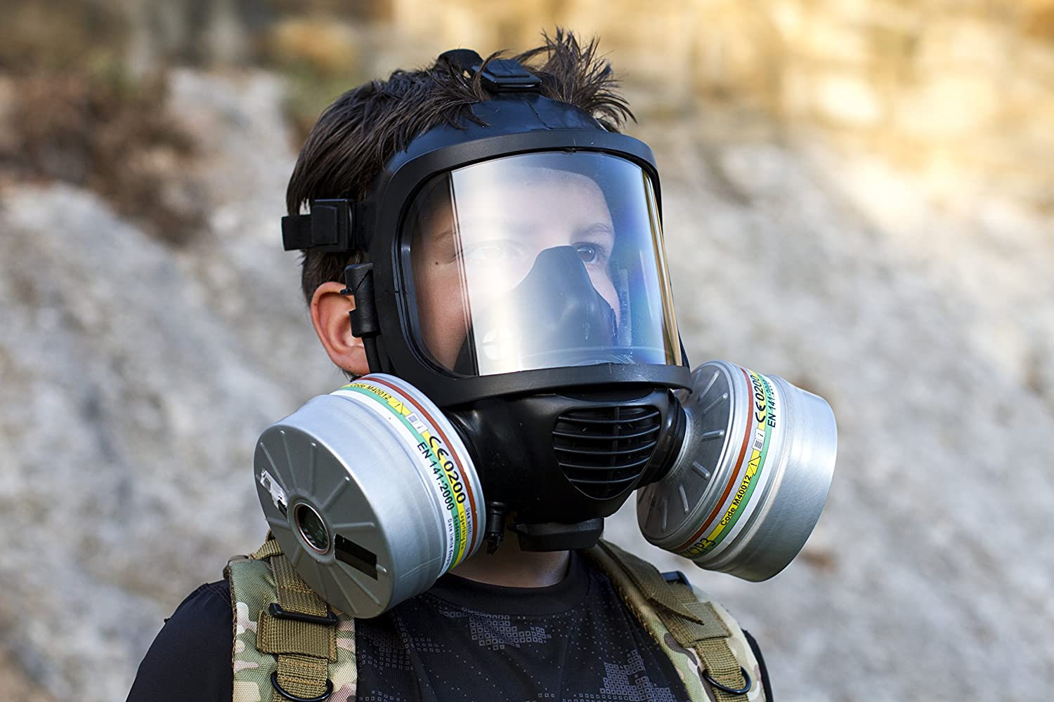 Which gas mask will protect against everything Will the gas mask help in case of fire Answers to 5 popular questions about gas masks