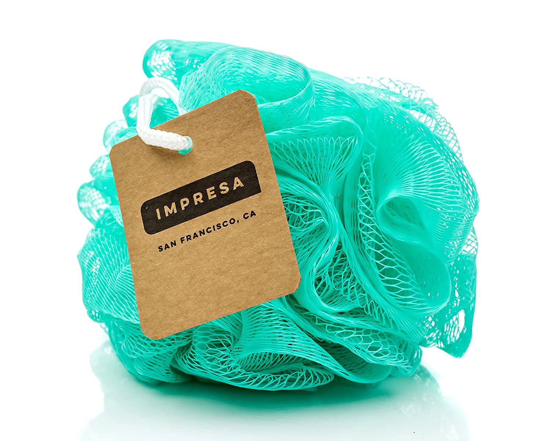 Amazon.com : Eco Friendly Mesh Bath And Shower Sponge, (6 Pack)   Loofah  Loofa Loufa Luffa Pouf Poof : Beauty