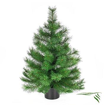Kleiner Tannenbaum Im Topf.Amazon De Artplants Deko Mini Tannenbaum Im Topf 90cm