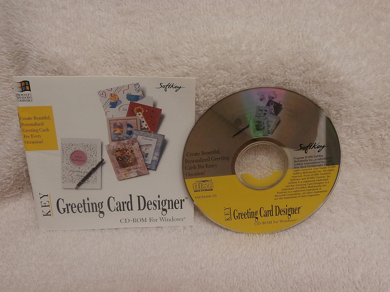 Amazon Softkey Key Greeting Card Designer Software