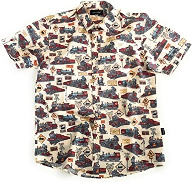 TRANKILO Camisa Trenes Crema. (L): Amazon.es: Ropa y accesorios