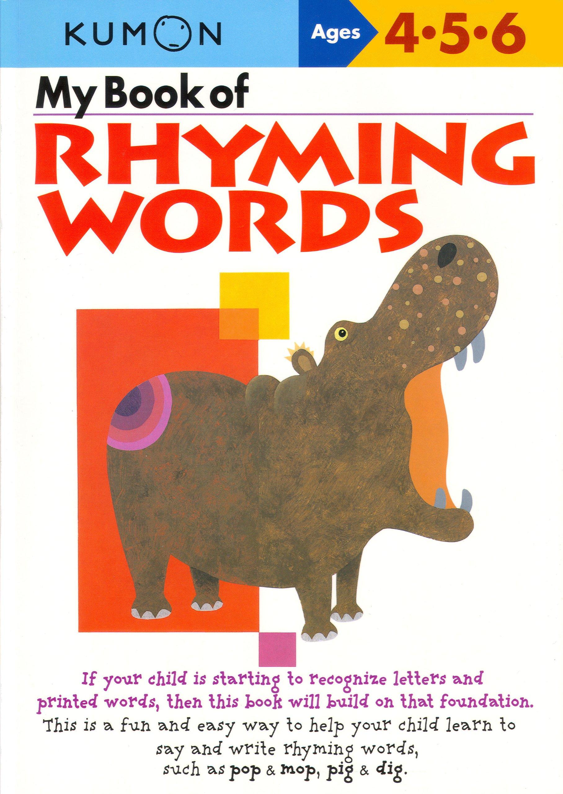amazon my book of rhyming words shinobu akaishi eno sarris