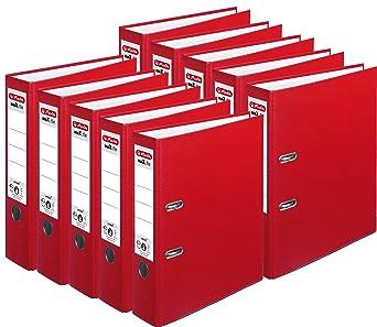 10er Pack | Acqua 8 cm breit Herlitz Ordner maX.File Protect A4