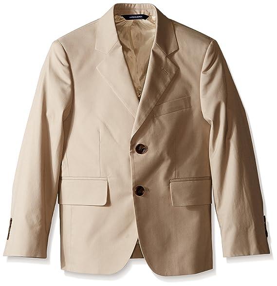 Amazon.com: Brooks Brothers Big Boys caqui traje chamarra ...