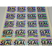 Holomarks 500 pcs Silver Security Seal 0.59 x 0.59 Inch, Void Hologram Stickers, Warranty Tamper evident Holographic…
