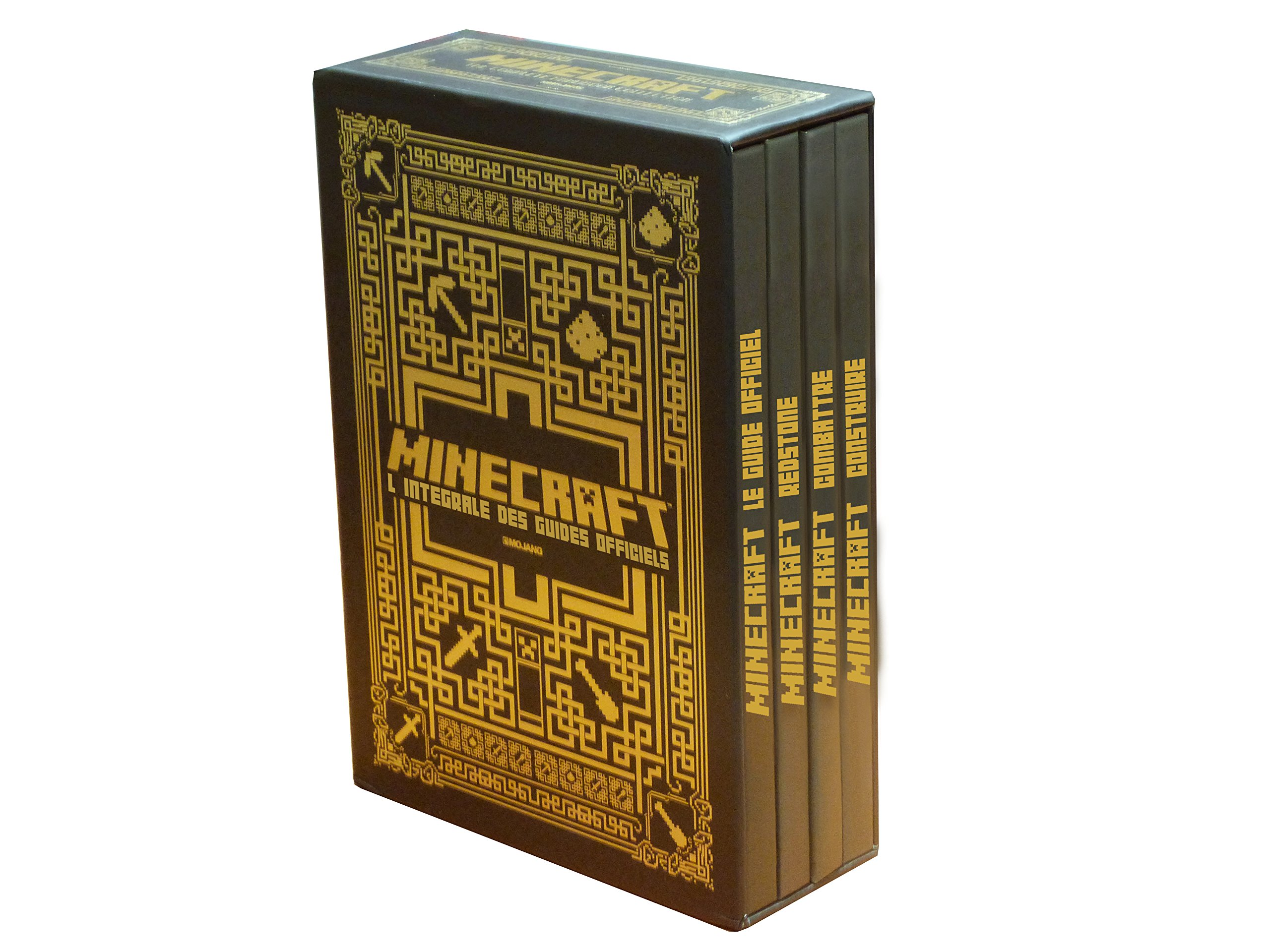 Coffret Encyclopedies Minecraft La Collection Des Guides