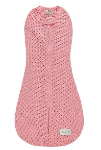 Saco de dormir de Puck Woombie verano Rosa Isla - para recién nacidos de 0-3 meses con peso 2,5-6 kg: Amazon.es: Ropa y accesorios