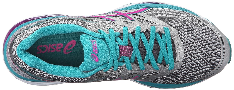ASICS Women's Gel-Cumulus 18 Running Shoe B017USNOFM 6 B(M) US Silver/Pink Glow/Lapis