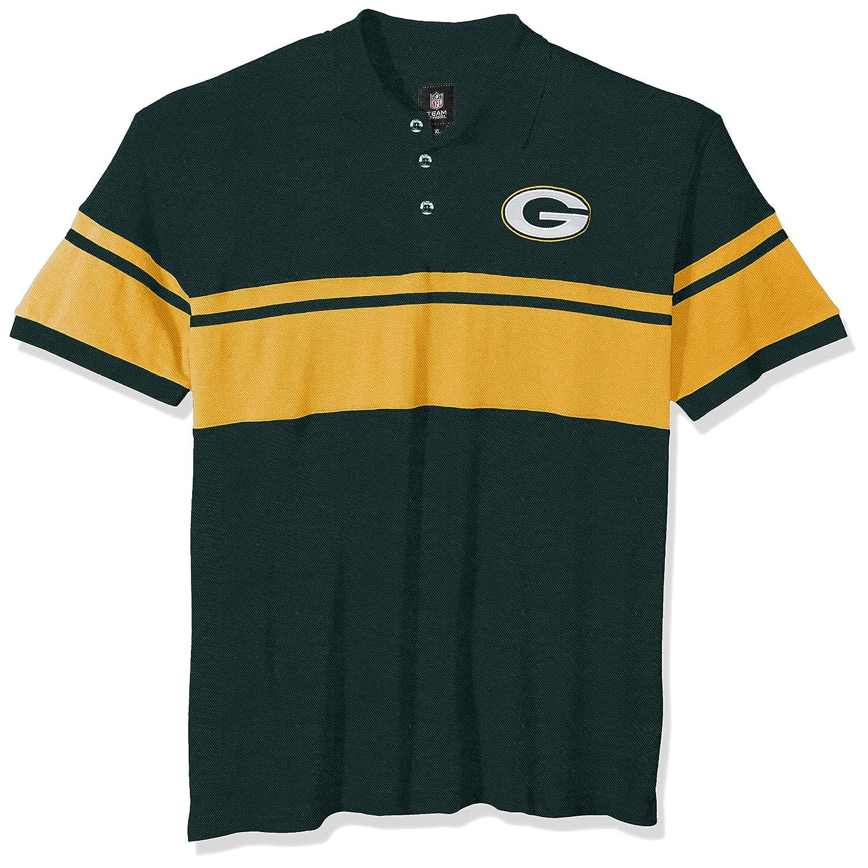 e8a51c5a FOCO NFL Mens Football Team Logo Cotton Stripe Polo Shirt