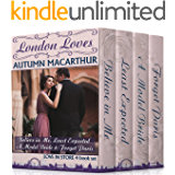 London Loves: Four sweet and clean Christian romances from the Love in Store series