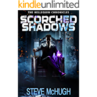 Scorched Shadows (The Hellequin Chronicles Book 7) book cover