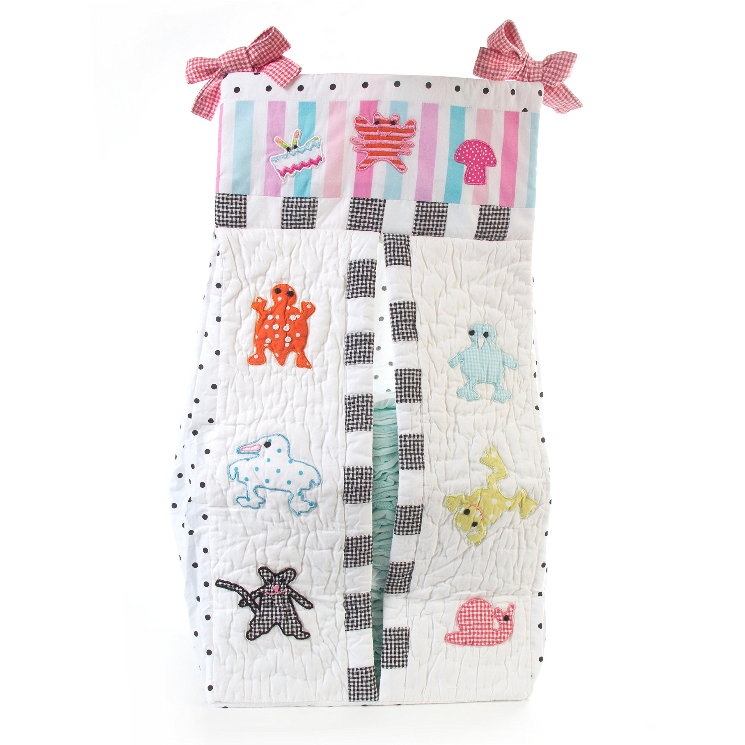 MacKenzie-Childs Quilted Animal Parade Diaper Stacker