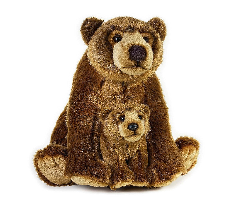 VENTURELLI Con Grizzly Bear felpa del bebé NSG 488