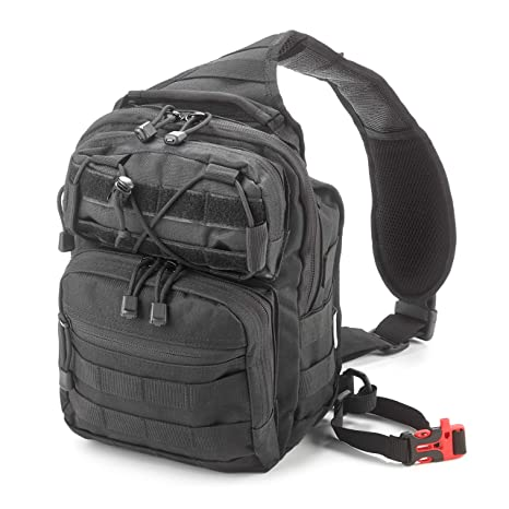 Camping & Hiking Reliable Military Tactical Nylon Chest Bag Camping Men Equipment Outdoors Wading Chest Pack Cross Body Sling Single Shoulder Bags 50% OFF