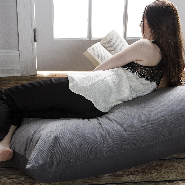 Amazon.com: Jaxx Bean Bags Saxx Bean Bag Floor Pillow, 3.5-Feet ...