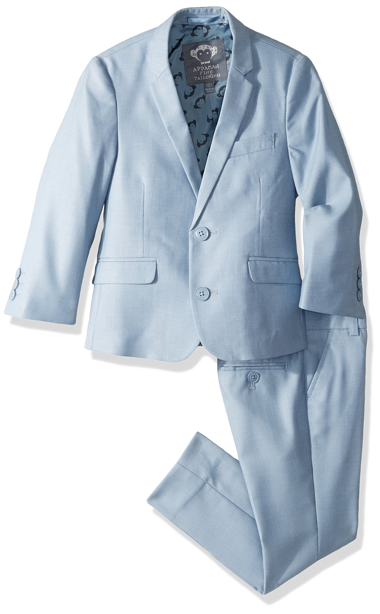 Appaman Boys' MOD Suit, Cool Blue, 6 by Appaman