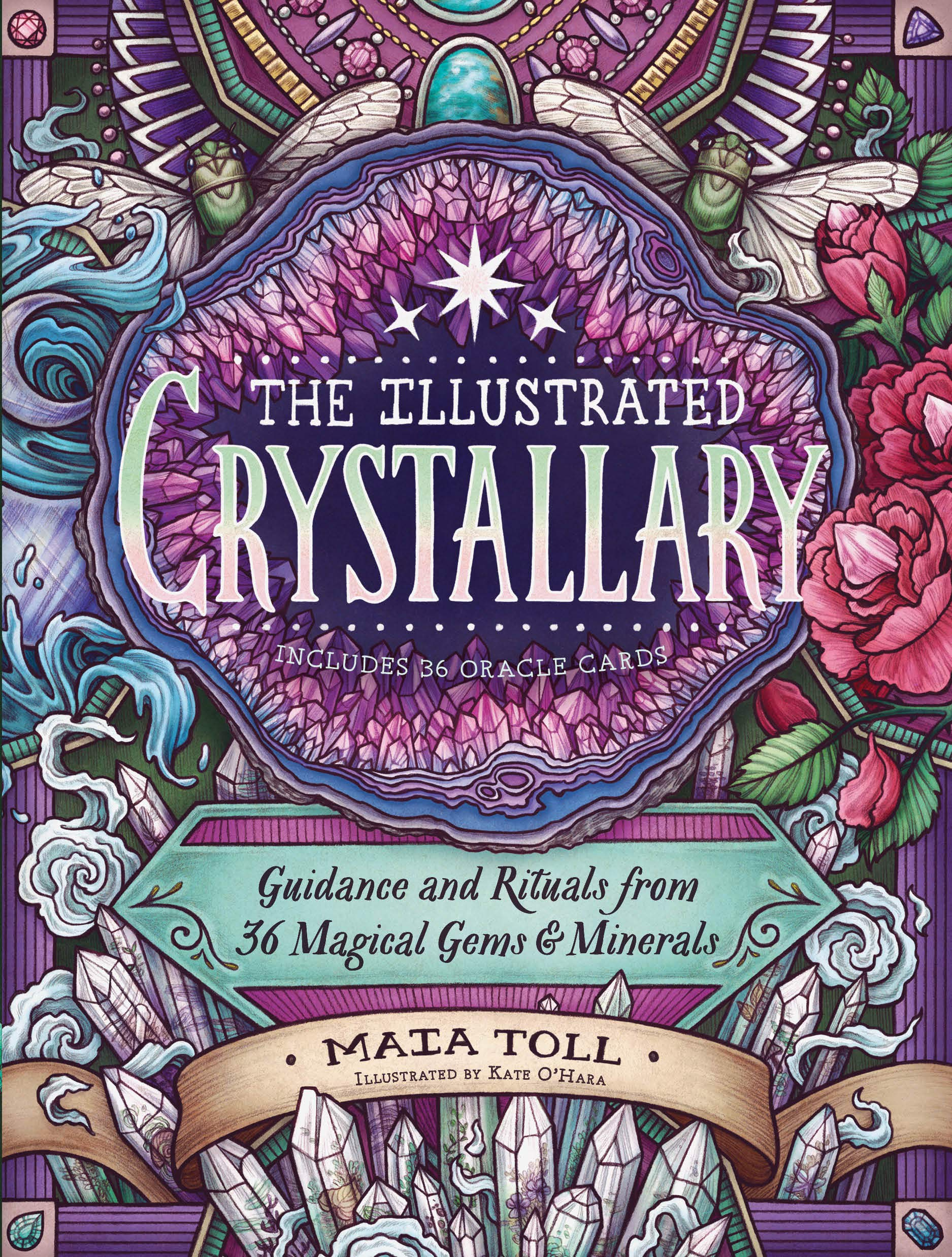 The Illustrated Crystallary Guidance And Rituals From 36 Magical Gems Minerals Wild Wisdom Toll Maia O Hara Kate 9781635862225 Amazon Com Books Many plants have changed and developed in ways (d) _. the illustrated crystallary guidance