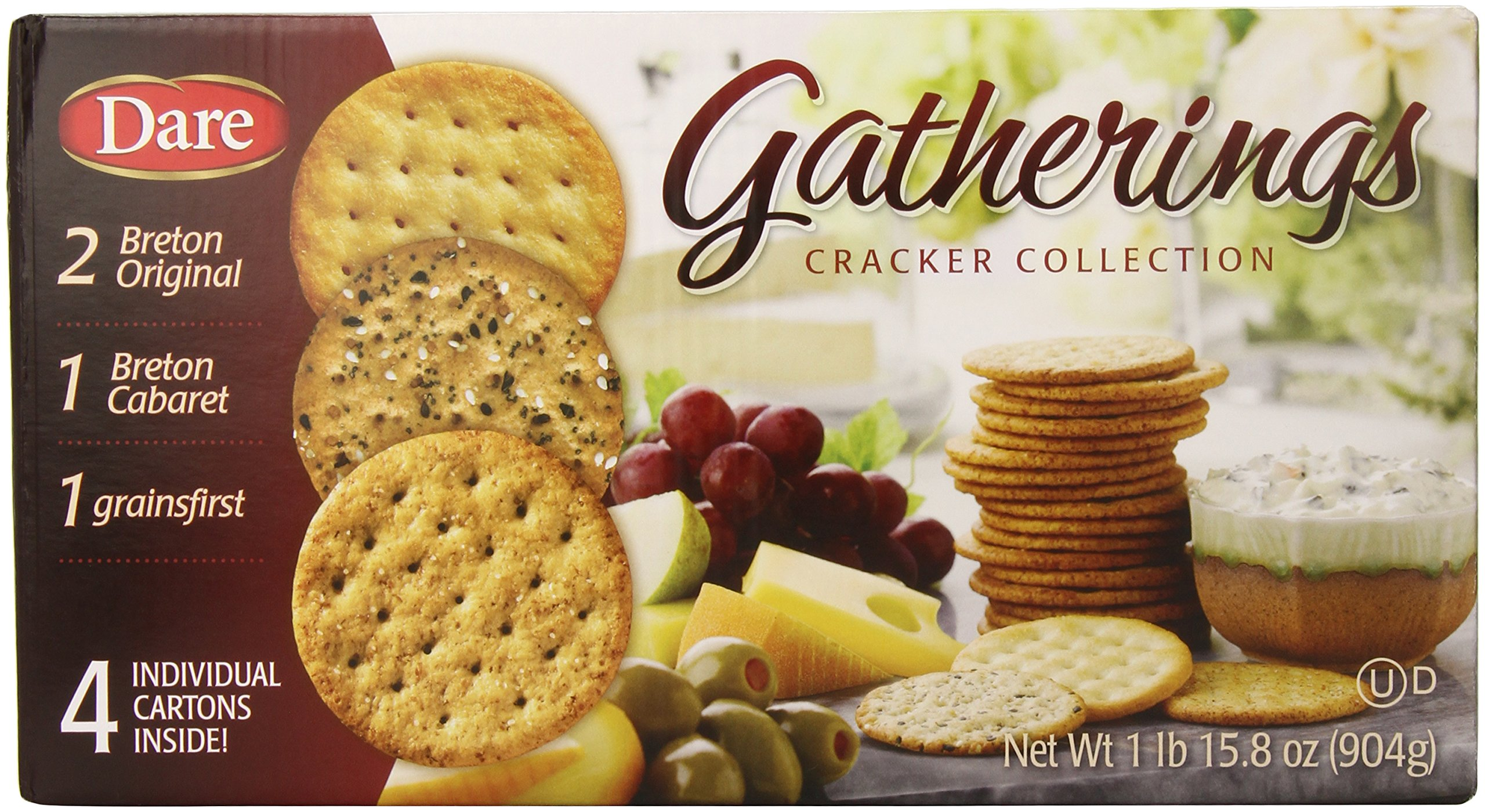 Dare Cracker Collection, Cabarit, Grainsfirst, Breton, 15.8 Ounce