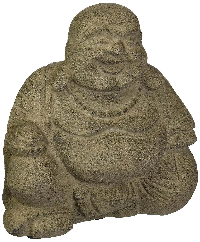 Amazon.com : Repose ST10204785 Gleeful Buddha Hotai Outdoor Statues :  Garden & Outdoor