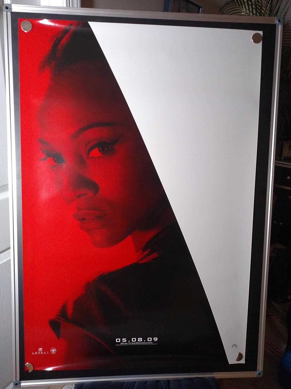 Star Trek Zoe Saldana Comic Con Original Single Sided Rolled 27x40 Movie Poster 2009