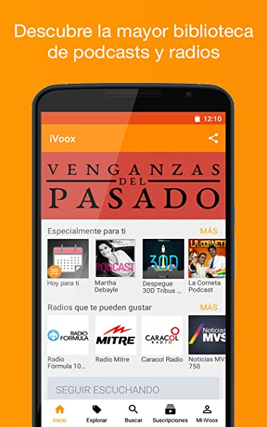 Amazoncom Podcast Radio Ivoox Appstore For Android