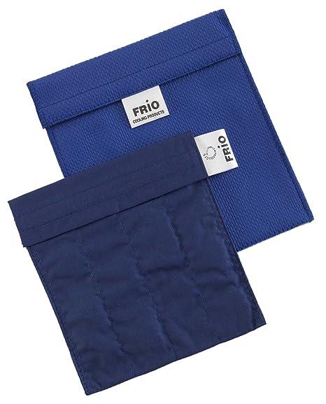Frio - Bolsa isotérmica para mantener insulina, color azul, 14 x 15 cm