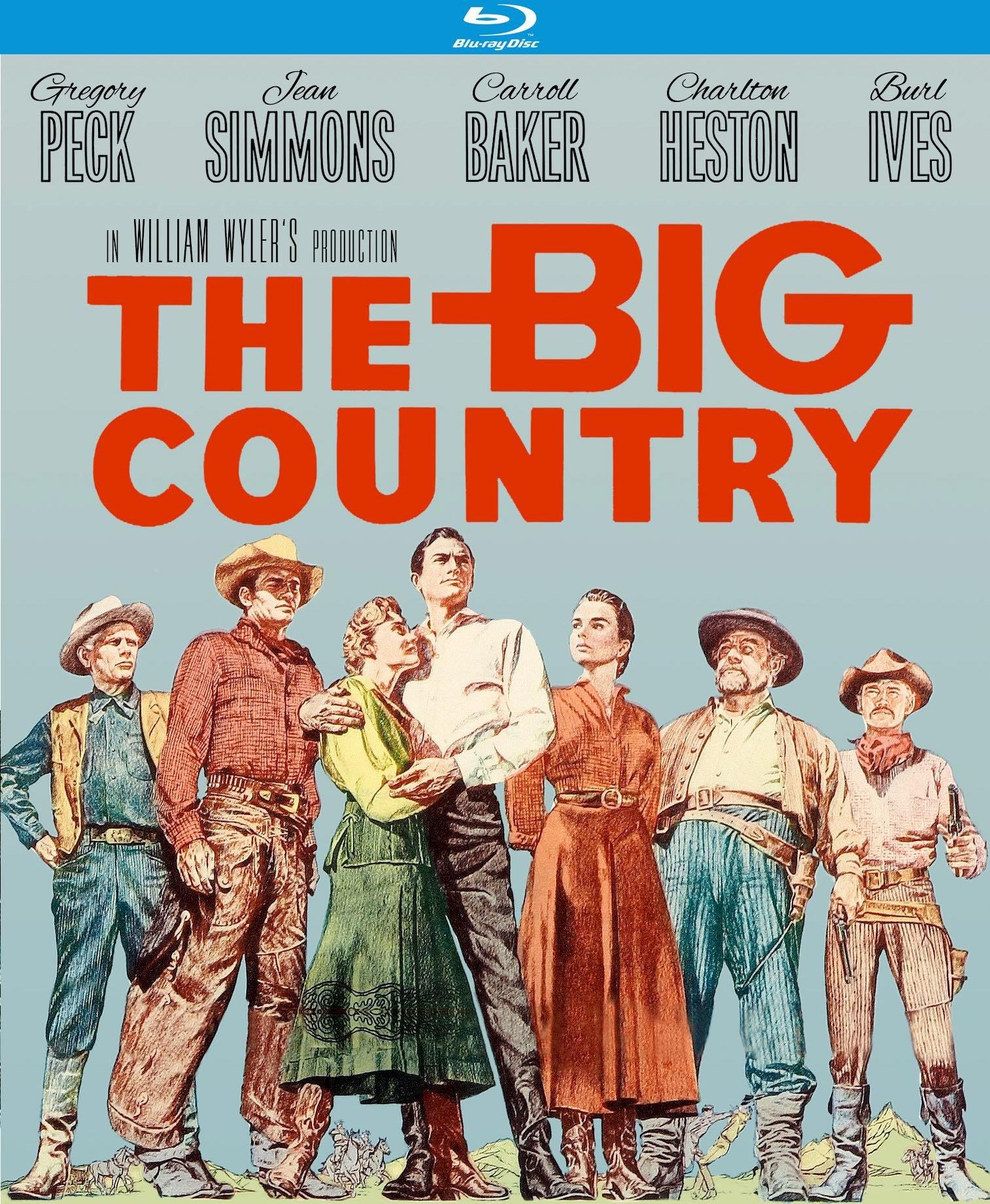 The Big Country [Blu-ray]