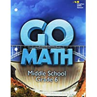 Go Math! (Sta): Student Interactive Worktext Grade 6 2016