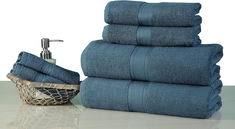 Saatvik Home Super Soft 6- Pieces Towels Set