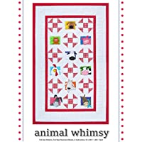 Amy Bradley Designs ABD258 Animal Whimsy Quilt Pattern, Color Varies