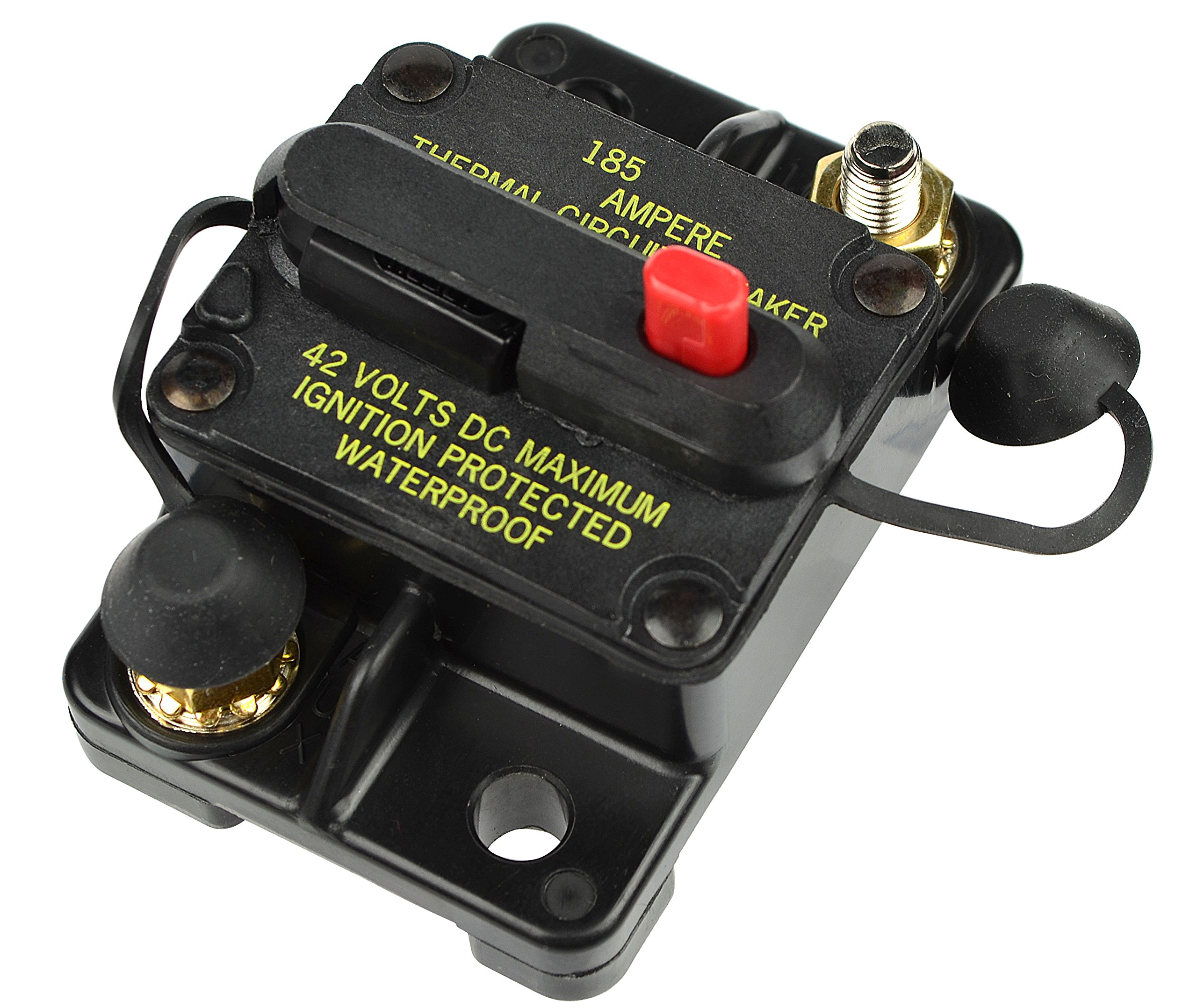 Bussmann Cb185 50 Series Automotive Circuit Burnt Breaker Fuse Box Plug In Mounting Amps Blade Terminal Connection