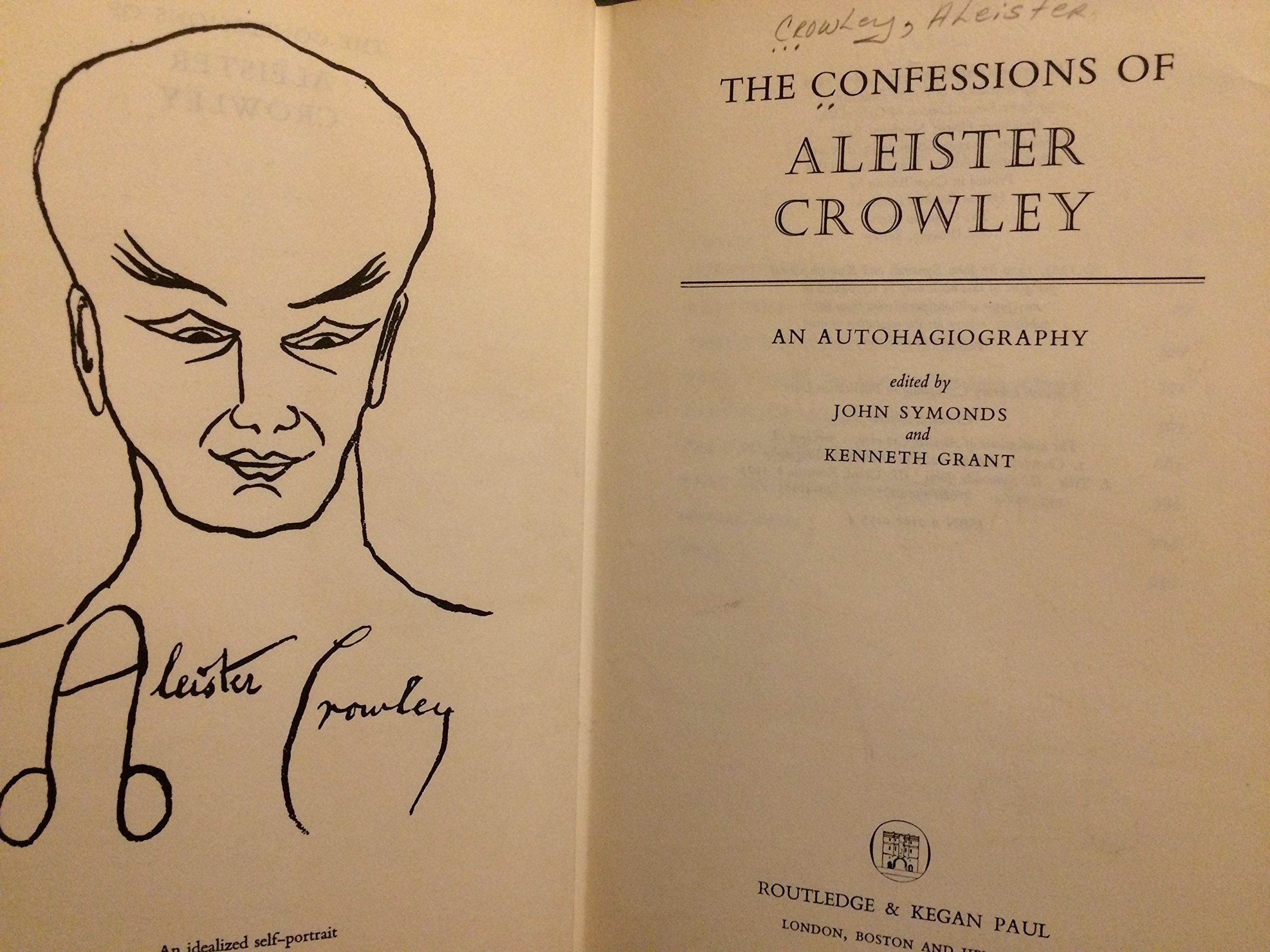 Aleister Crowley Drawings