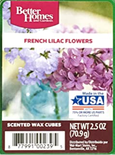 Amazoncom Better Homes and Gardens Rainy Spring Day Wax Cubes