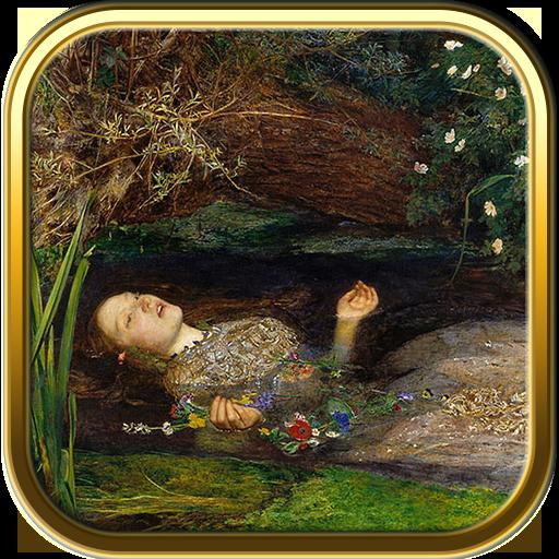 Millais Painting Ophelia - Art Jigsaw Puzzle Games: John Everett Millais