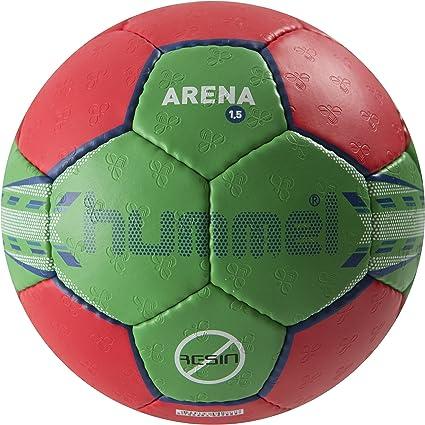 hummel Handball 1.5 Arena - Pelota de Balonmano, Color Rojo, Verde ...