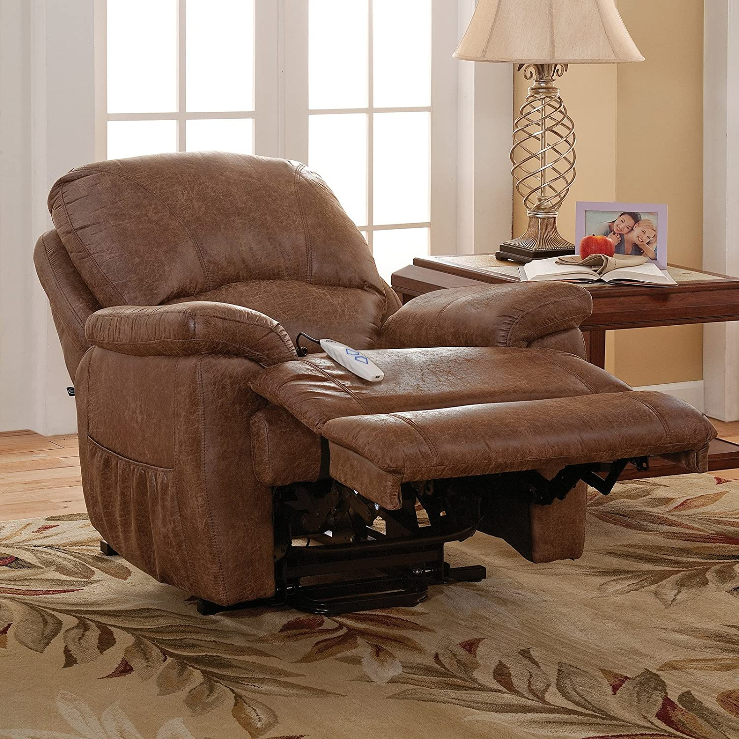 massage s chair inflow big recliner content port usb inflowcomponent cancel foam res multiple memory global p storage tall colors serta
