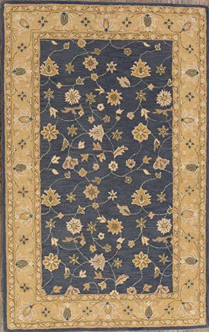 Amazon Com Rug Source 5x8 Floral Hand Tufted Indian Agra Oriental