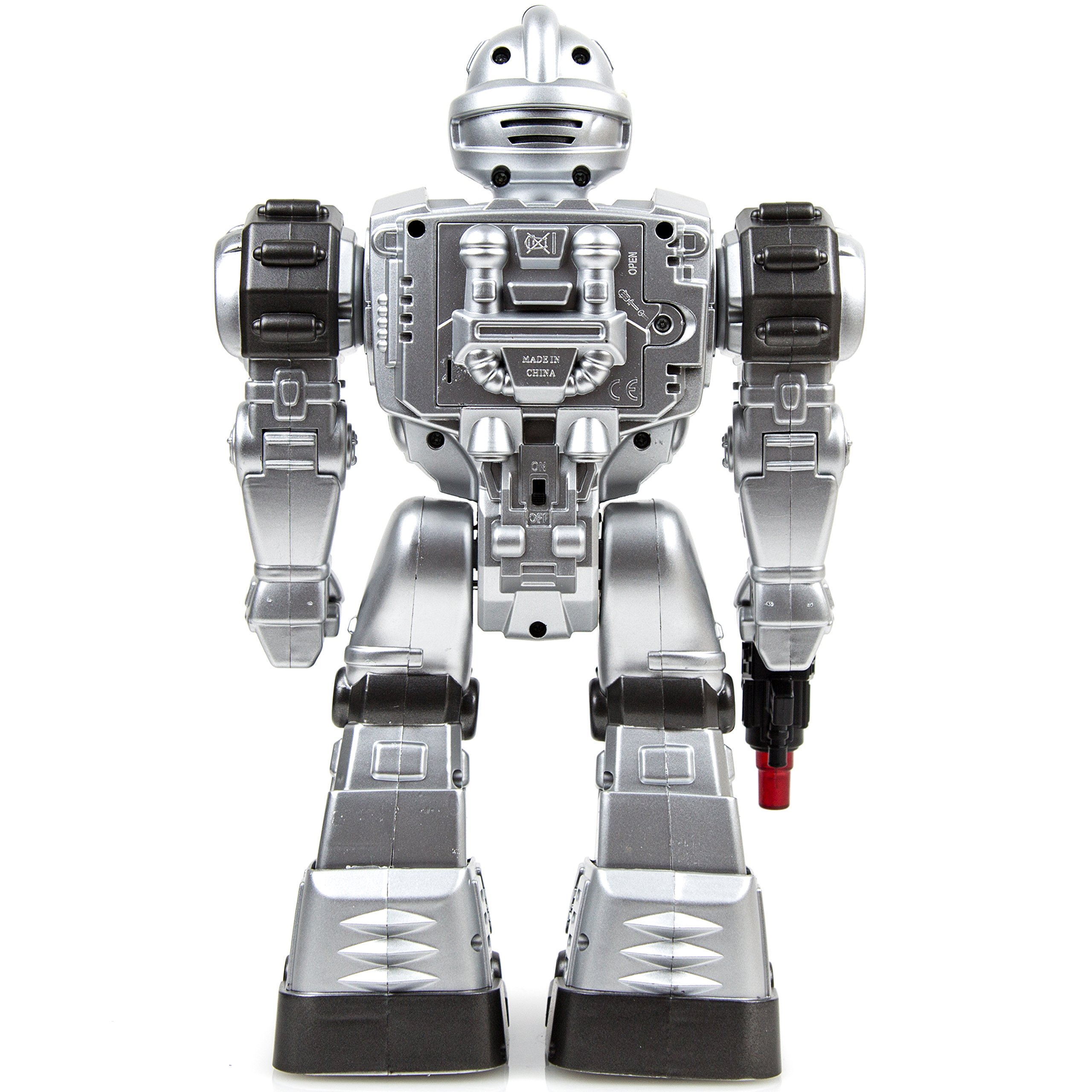 Toysery Remote Control Robot Police Toy for Kids Boys Girls with Flashing Lights Action Toy for Boys by Toysery (Image #4)