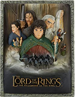 lord of the rings lotr 3d the fellowship of the ring poster art