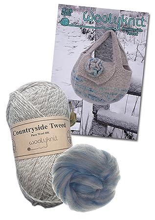 Mach Hand Tasche stricken Bundle Pack, Wolle und Muster., Papier ...